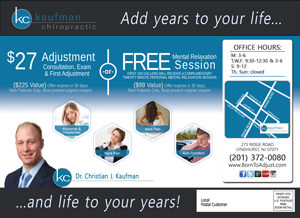 direct mail for chiropractor