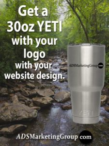 Free YETI with website design