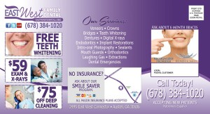 post card marketing dentist